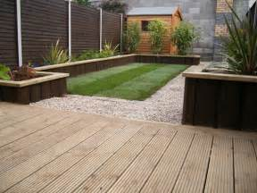Decking Ideas Small Gardens Garden Decking Ideas Garden Design Project Ratoath Garden Redesign Ireland 550x413