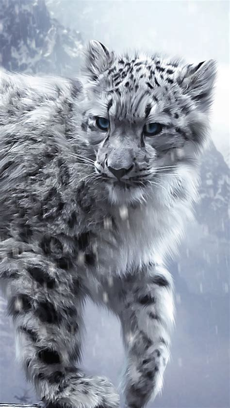 wallpaper iphone 5 leopard snow animals leopard wallpaper for iphone x 8 7 6