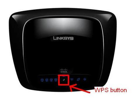 wps button linksys community