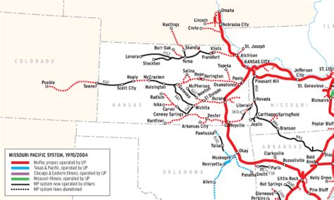 missouri pacific railroad map what happened to the missouri pacific pacific