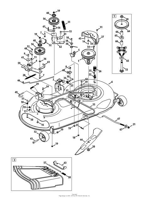 troy bilt pony mower parts diagram troy bilt 13wx79kt011 2013 parts diagram for mower