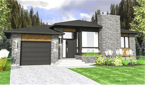 contemporary prairie style house plans contemporary prairie style house plan 90306pd