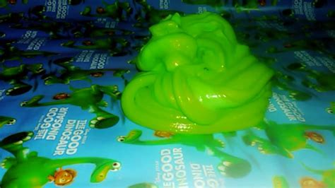 cara membuat slime original cara membuat original green slime wahidatul atsna youtube