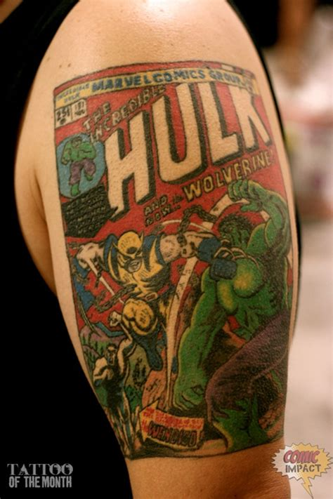 comic book tattoos comic book gallery