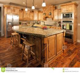 Center Island Kitchen Cabinets Modern Home Kitchen Center Island Stock Images Image 9931594
