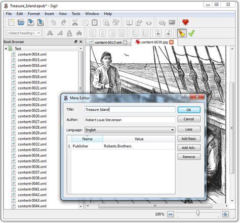 epub format editor sigil complete ebook editor with full epub format support