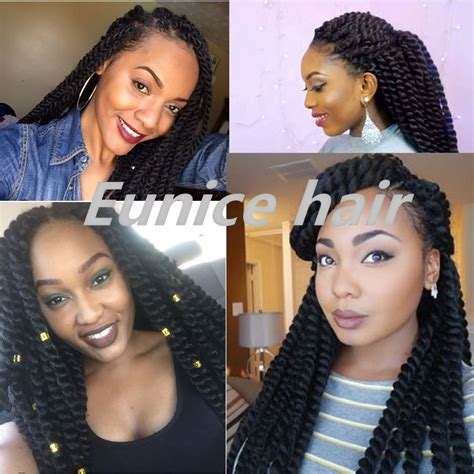 using differentcolored extensions for senegalesetwist black braided hairstyles full size havana mambo twist