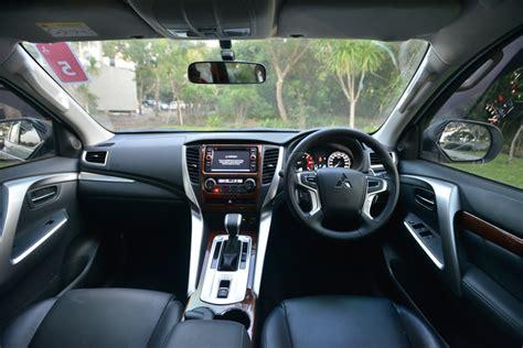 mitsubishi pajero interior 2017 test drive mitsubishi pajero sport dakar 4x2 review