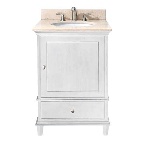 avanity 24 quot vanity with countertop white free