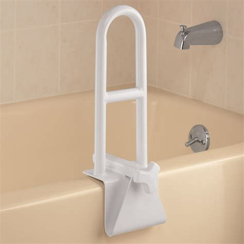 Bathtub Cl On Grab Bars by Adjustable Tub Grab Bar Safety Bar For Bathtub Easy