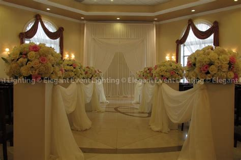 Wedding Ceremony Draping by Tony S Venuti S Wedding Event