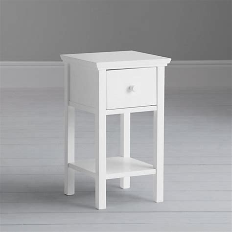 Set Of 2 White Bedside Tables Buy Lewis Wilton Set Of 2 Bedside Tables Lewis