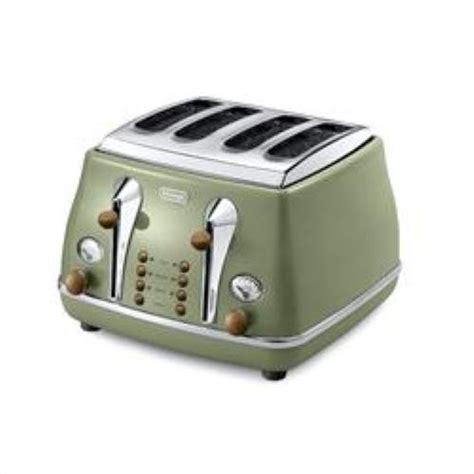 Price For Toaster De Longhi Ctov4003 Gr Vintage Icona 4 Slice Toaster