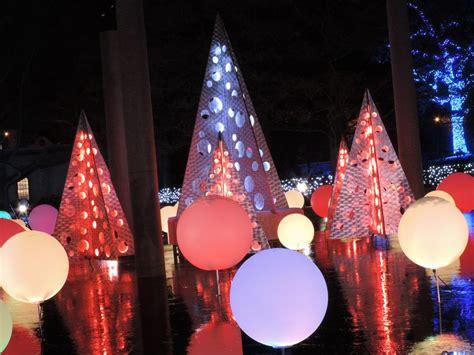 botanical gardens st louis christmas lights garden glow holiday lights at missouri botanical garden