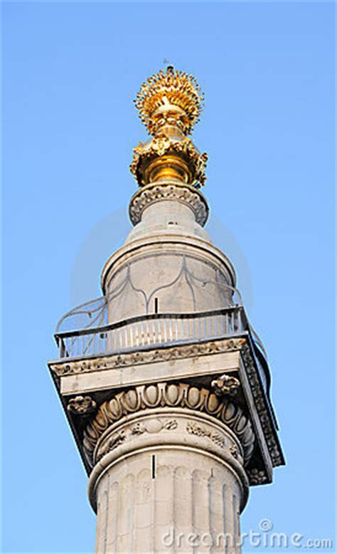 monument   great fire  london england uk royalty