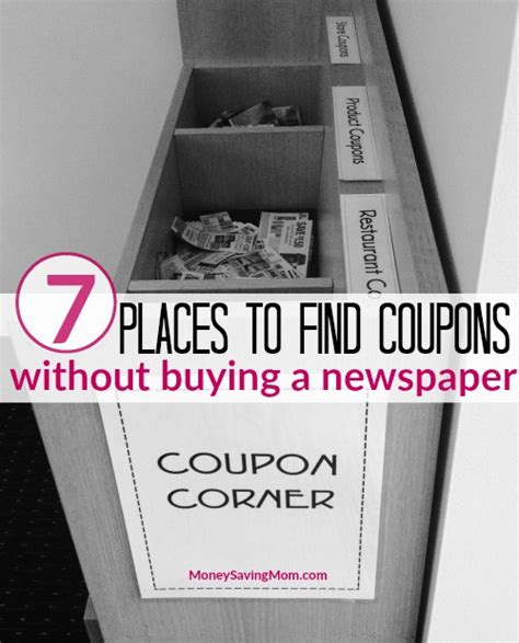 7 Places To Buy by 7 Places To Find Coupons Without Buying A Newspaper