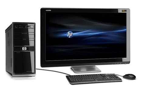Hp Pavilion Elite Hpe Desktops Plus Hp Compaq L2105tm Hp Desk Top Computer