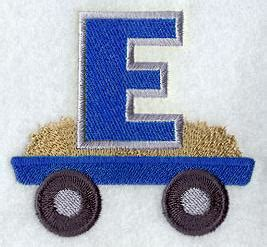 Stitch Size 282930 7555 machine embroidery designs at embroidery library tractor alphabet