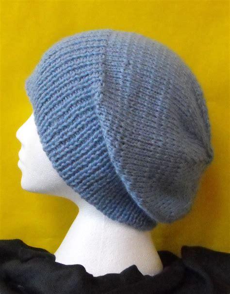 knit slouchy hat pattern knitting pattern chunky slouch big beanie hat