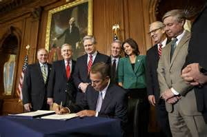 Recess on feb 13 republicans did not send the legislation to obama