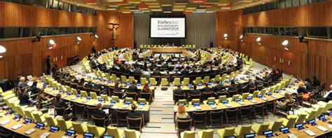 Delegates Dining Room United Nations by 2013 Forbes 400 Philanthropy Summit