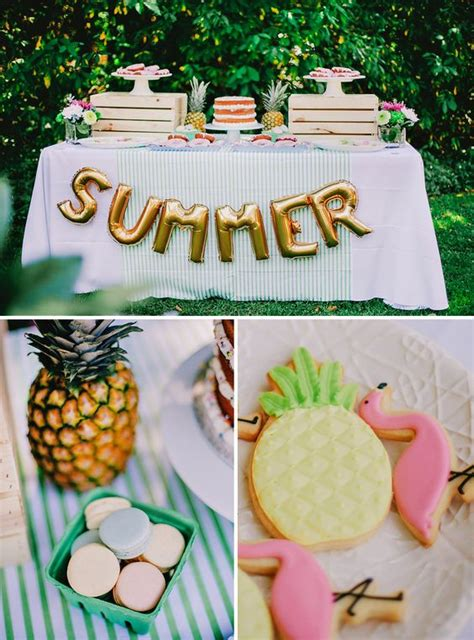 fun summer party ideas 15 stylish summer party ideas from pinterest