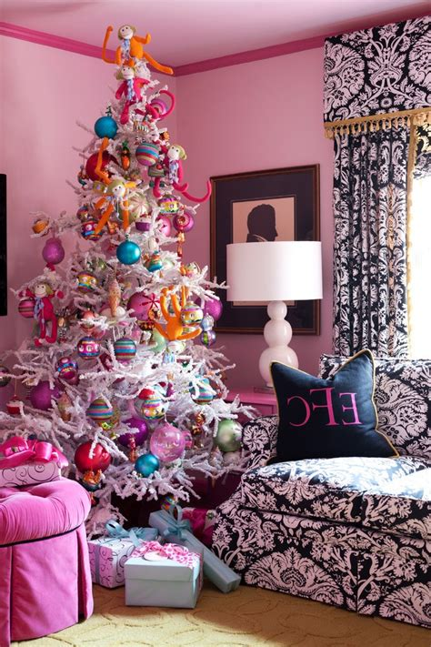 modern christmas decorations spaces transitional with