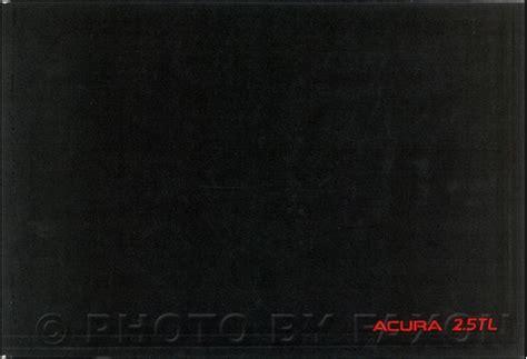 1996 acura tl owners manual original 2 5tl 3 2tl 1995 acura tl owners manual original 2 5tl