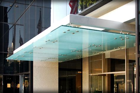 Glass Awnings Canopies by Dac Architectural Glass Canopies Translucent Awnings