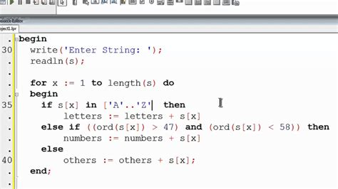 tutorial delphi pascal free pascal program tutorial 27 separating strings with
