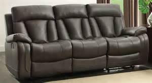 ackerman grey reclining sofa from homelegance
