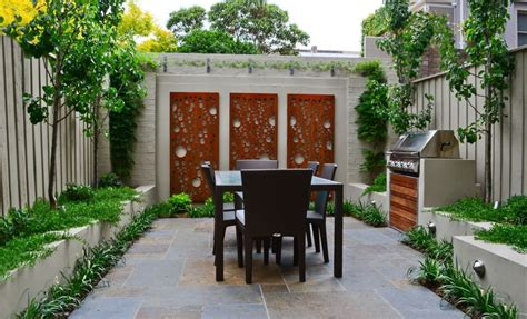 backyard bbq areas how to beautify your house outdoor wall d 233 cor ideas