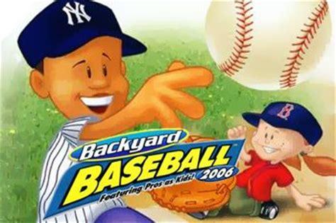 Backyard Baseball Real Backyard Baseball The Free 2017 2018 Best
