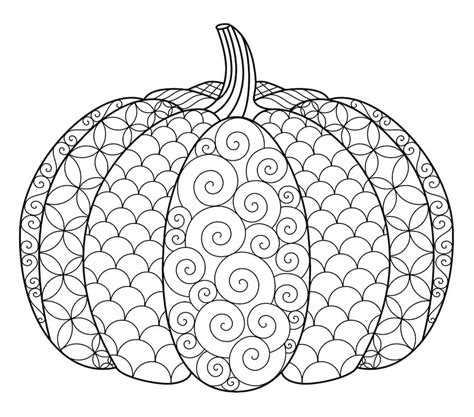 pumpkin mandala coloring pages halloween doodles doodle coloring pages