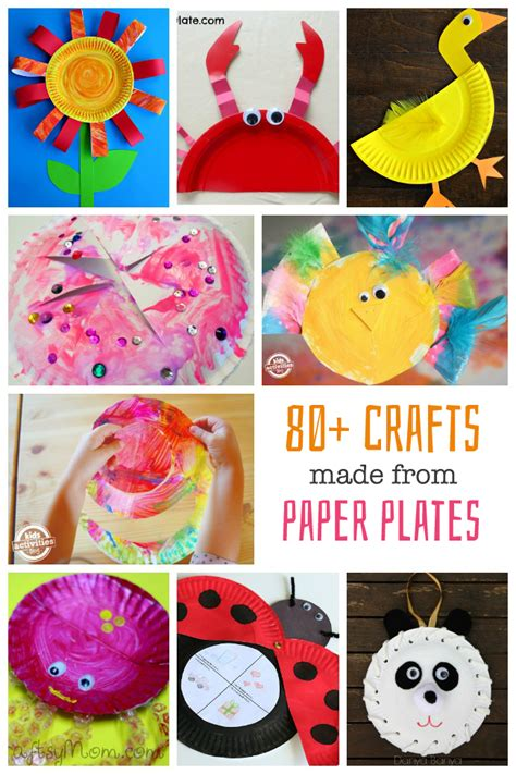 Paper Plate Craft Work - craft work with paper plates find craft ideas