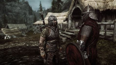 skyrim imperial soldier avingard and an imperial legion soldier skyrim travels