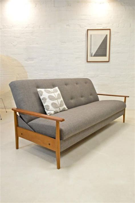 danish modern sofa bed mid century modern sofa bed guy rogers danish era retro