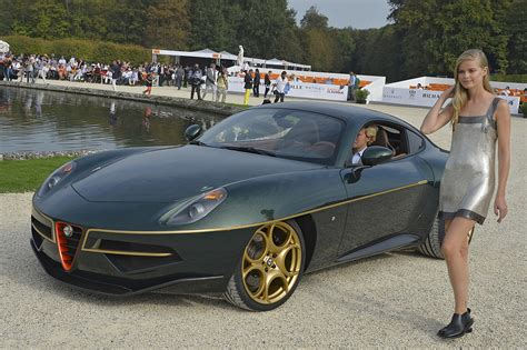 aston martin disco volante alfa romeo disco volante by touring chantilly arts et