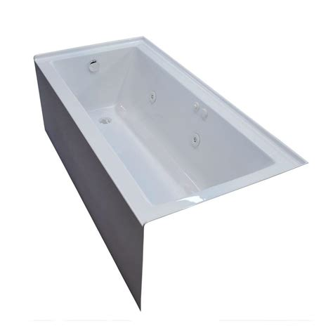 universal tubs 5 ft acrylic rectangular drop in