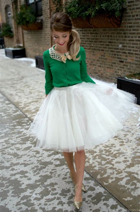 how to wear a tulle skirt without looking like a