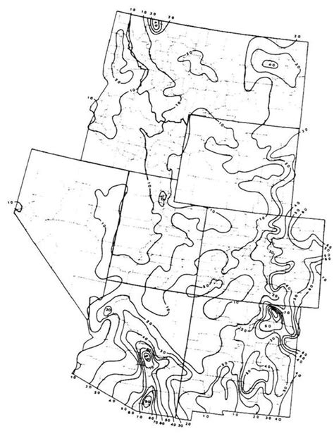 isoerodent map of california rusle