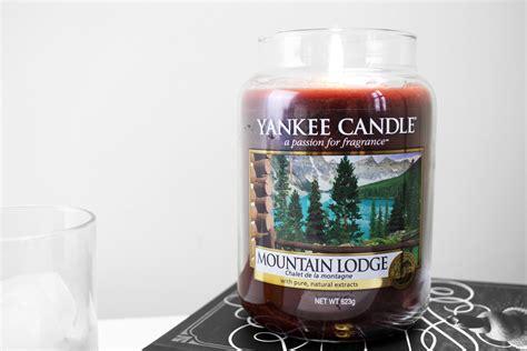 candele lodge mountain lodge candle review prettygreentea