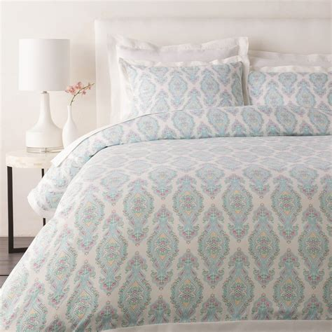 Stores That Sell Duvet Covers shop surya alia aqua duvet cover at lowes