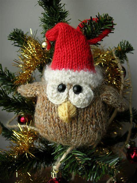 diy christmas owl amigurumi ornament free crochet