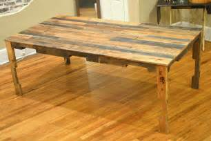 Kitchen Table Building Plans The Shipping Pallet Dining Table Paths So Startled