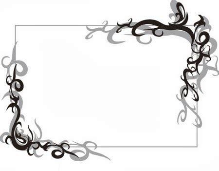 Bingkai Foto Gantung Motif Kartun Lucu gambar bingkai hitam putih untuk presentasi power point