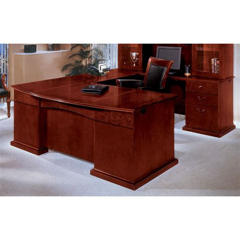 executive office desk dmi office furniture mar u shape executive desk with hutch reviews wayfair ca