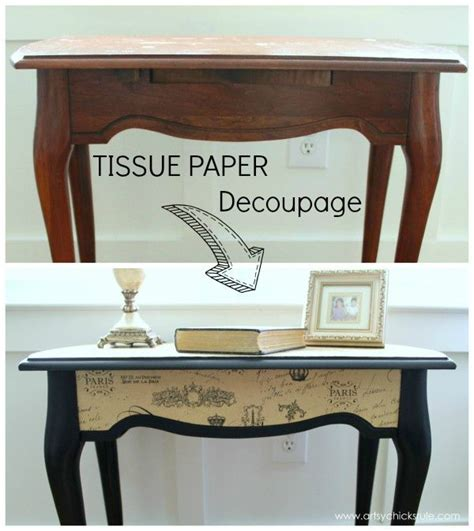 Paper For Decoupage On Furniture - best 25 decoupage table ideas on decoupage