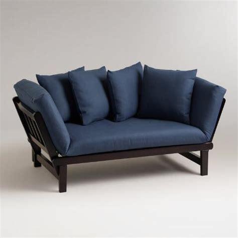 world market slipcovers vintage indigo studio day sofa slipcover world market