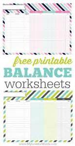 free printable printable balance sheet